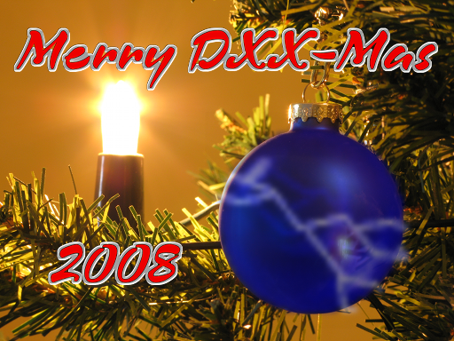 Merry DXX-Mas 2008